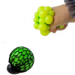 4PCS Vent Grape Ball Stress Relief Squeeze Toy