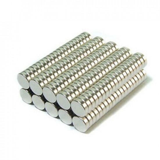50PCS N52 4mmx2mm Round Neodymium Magnets Rare Earth Magnet 2021