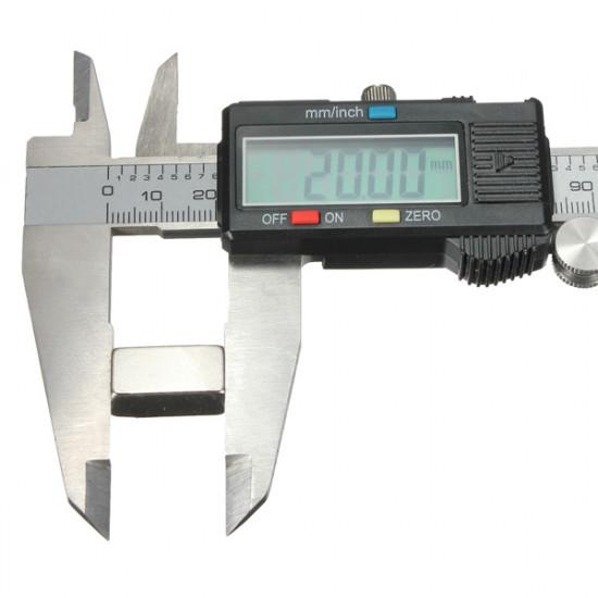 5Pcs N35 20x10x10mm Super Strong Block Rare Earth Neodymium Magnet 2021