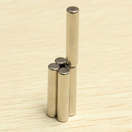 5pcs D4x20mm N42 Neodymium Magnets Rare Earth Strong Magnet 2021