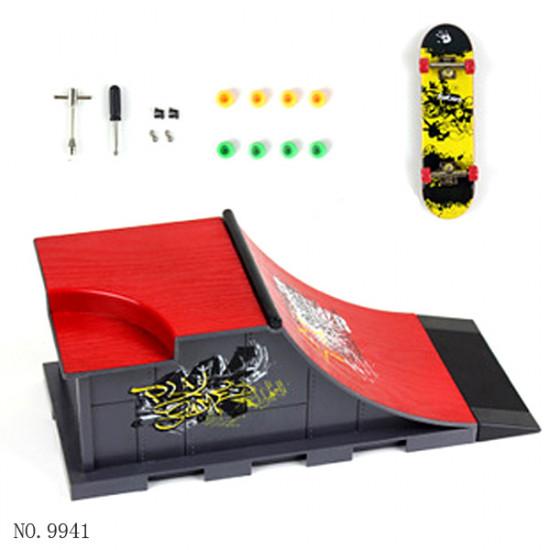 ABS Plastic Mini Finger Skateboard Site Children's Toys 2021