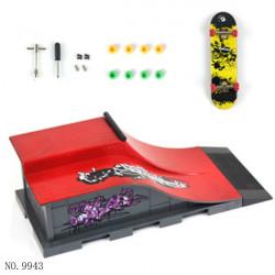 ABS Plastic Mini Finger Skateboard Site Children's Toys