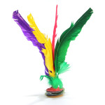 Assorted Feather Chinese Traditional Jianzi Kick Shuttlecock Sport Game & Scenery Toy