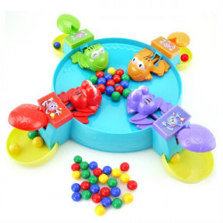 Beads Frog Eat Beans The Ball Desktop Family Games Educational Toys