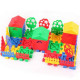 Children Educational Toys DIY Building Plastic Blocks Colorful House 2021