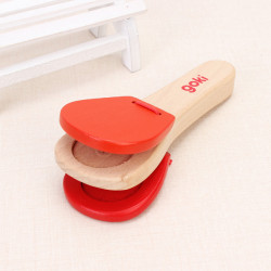 Children Handle Ring Toy Wooden Soundboard Music Educational Toy