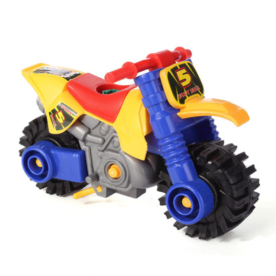 Children's DIY Disassembly Motorcycle Baby Educational Toys 2021