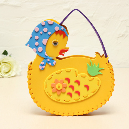 DIY Handmade Animals Duck Bags Sewing EVA Handbags 2021