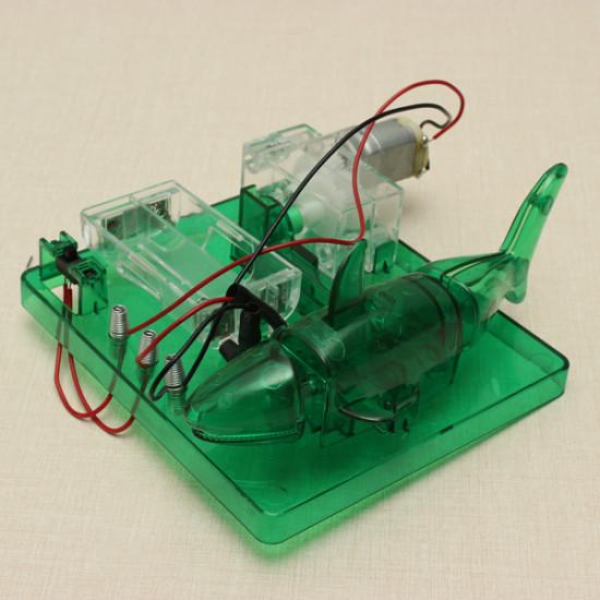 DIY Robotic Fish Science Educational Toys Kids Children Puzzle 2021