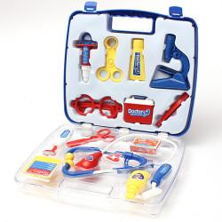 Educational Doctors Nurses Dress Up Role Play Toy Medical Case Set