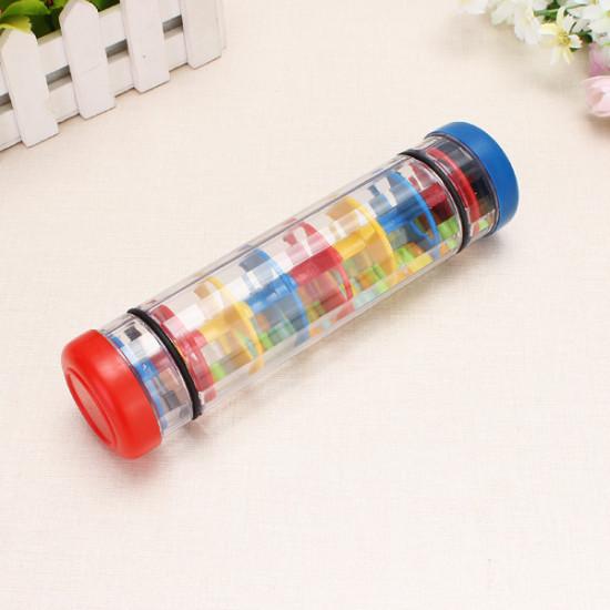 Educational Toys Rain Sound Rainbow Hourglass Plastic Toys 2021
