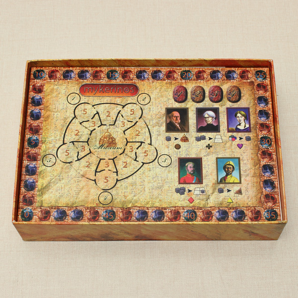 Egypt Archaeology Mykerinos Board Game Social Game Educational Toys