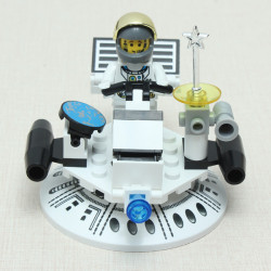 Enlighten Exploration Flying Saucer Assembly Blocks Educational Toy