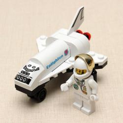 Enlighten Mini Space Shuttle Spacecraft Plane Educational Toys Gift For Children