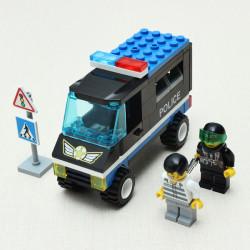 Enlighten Patrol Wagon Police Car Blocks Educational Toy