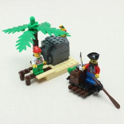 Enlighten Treasure Transit Station Offshore Terminal Pirate Blocks Toy