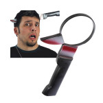 Halloween and April Fool's Day Prank Toys Knife Through Head Game & Scenery Toy