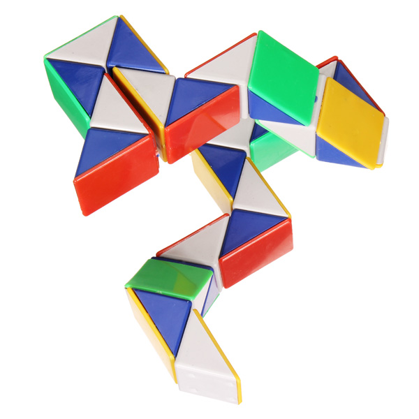 Magic Toy Game 3D Snake Cube Puzzle Educational Toys