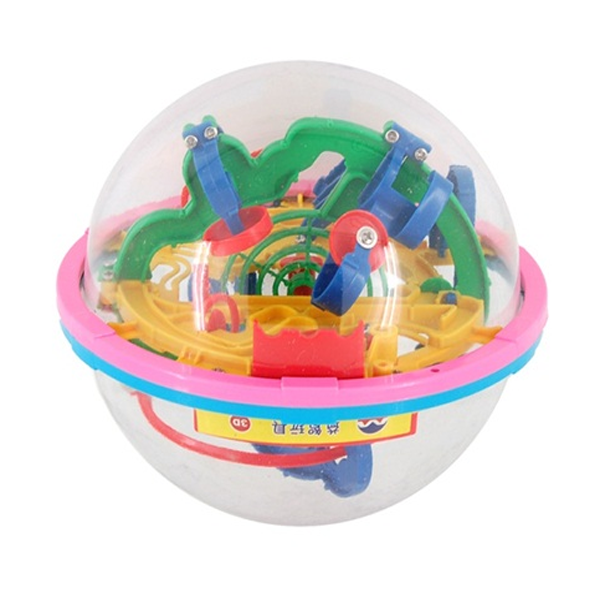 Magical Intellect Ball 100 Steps Super Power Magical Ball Puzzle Educational Toys