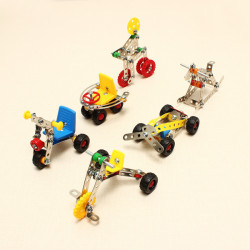Magical Model DIY Metal Assembly Car Metal Blocks Educational Toys