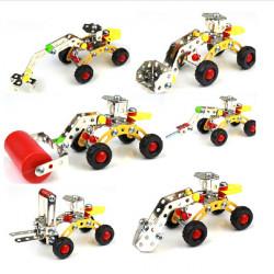 Magical Model DIY Metal Assembly Vehicle Metal Blocks Educational Toys