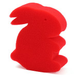 Magical Sponge Red Changing Rabbit Close Magic Trick Prop Game & Scenery Toy