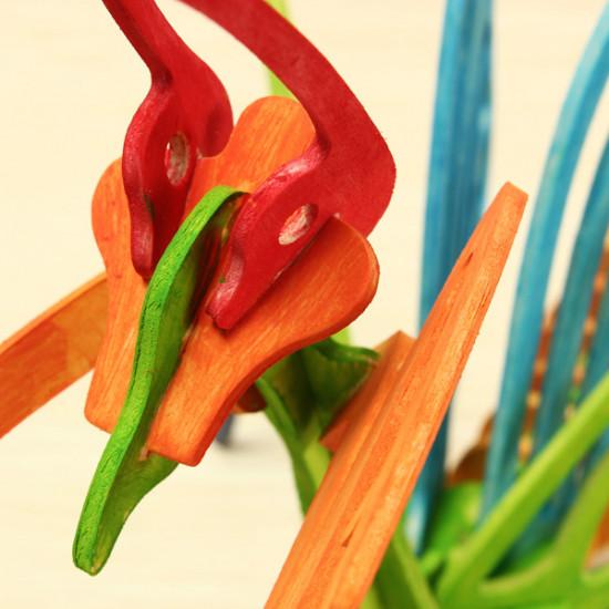 Mantis DIY Colorful Puzzle Educational Toys For Children 2021