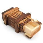 Mini Compartment Wooden Secret Toy Magic Puzzle Box Educational Toys