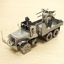 PIECECOOL Air Defense Truck DIY 3D Laser Cut Models Puzzle