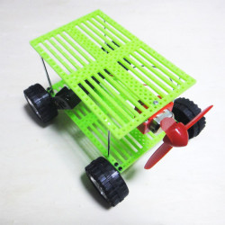 Panel Car Wind Handmade Assembly Creative Technology Puzzle Kit