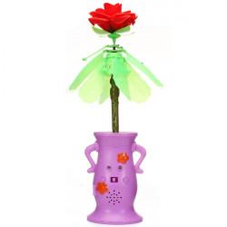 Remote Control Toy Flying Rose Flying Flower Novel Gift