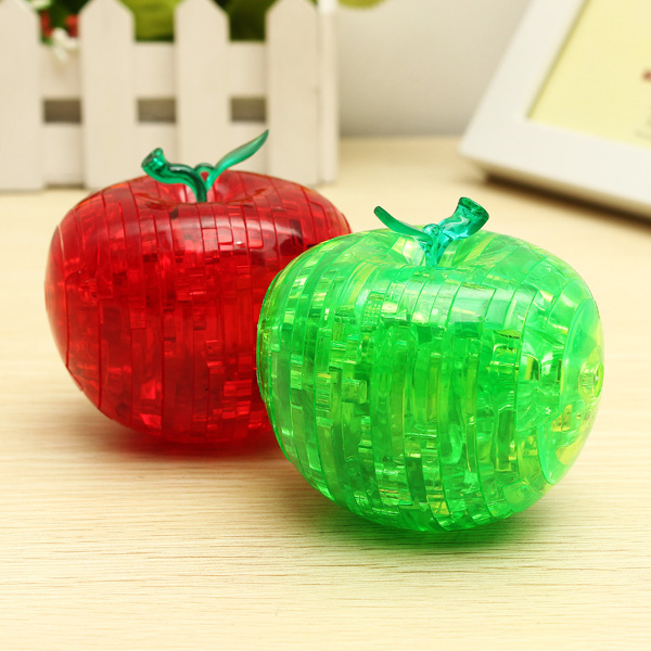 Space Thinking 3D Crystal Apple Puzzles Toy Child Adult Toy Toys Model