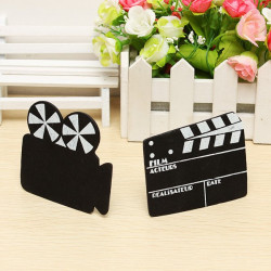 The Mini Film Projectors&Black Board Decoration