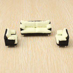 The Model Material Indoor Scene Decoration Sofa Set 1:30