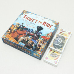 Ticket to Ride Railway Mission Card Game Chinese English Version