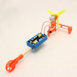 Wind Powered Car DIY Creative Small Toys Technoogy Production