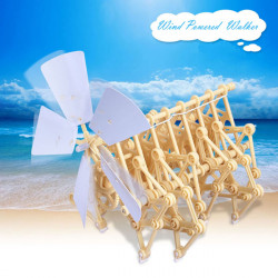 Wind Powered Walking Walker Mini Strandbeest DIY Assembly Model Kits