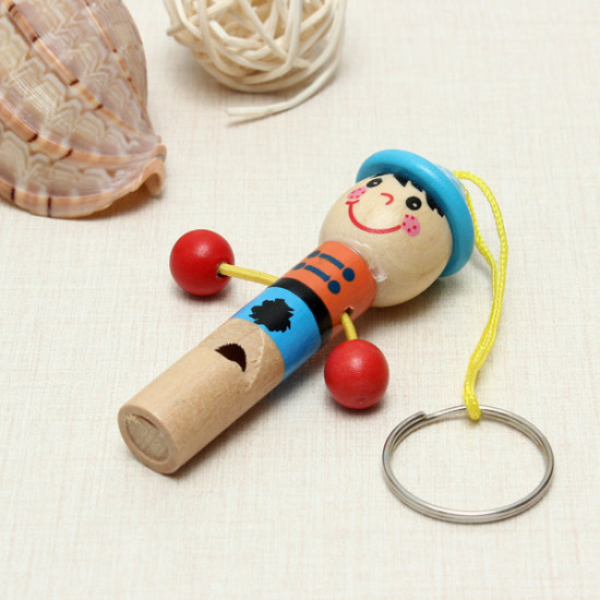 Wooden Mini Developmental Musical Whistle Kids Toy Educational Toy