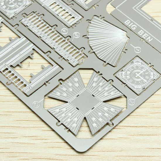 ZOYO Big Ben DIY 3D Laser Cut Models Puzzle 2021