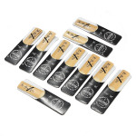 10pcs Traditional Bb Clarinet Reeds Reed Bb 2.5 Strength 2 1/2 Musical Instruments