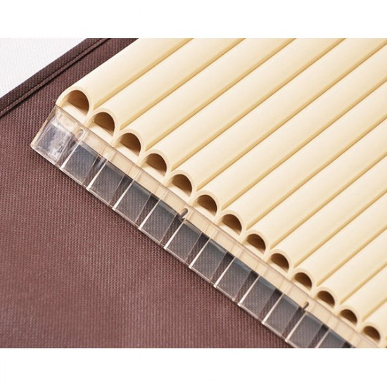 16 Tube Eco-friendly Resin C tone Pan Flute Easy Learning 2021