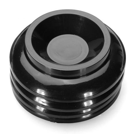 4Pcs Black Plastic Upright Piano Caster Cups Pads Floor Protector 2021