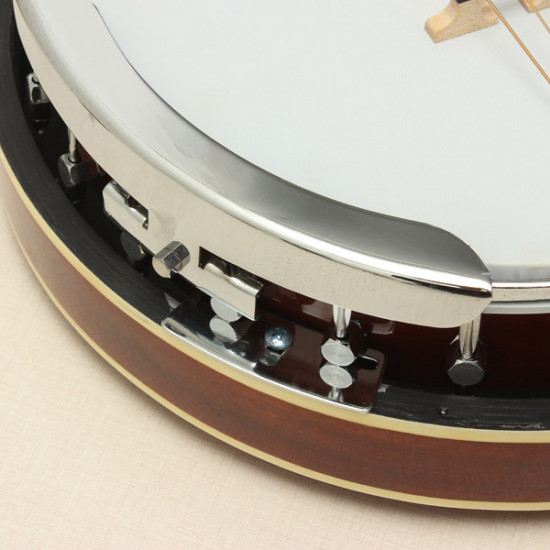 6-string Banjo Exquisite Professional Sapelli Notopleura Wood Alloy 2021