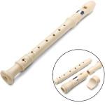 8-hole Descant Soprano Recorder Beginners School Children Music Musical Instruments