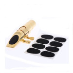 8pcs 0.8mm Soprano Saxophone Clarinet Mouthpiece Patches Pads Cushions Musical Instruments