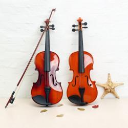 ASTONVILLA AV02 4/4 Imitation Ebony Parts Spruce Wood Acoustic Violin