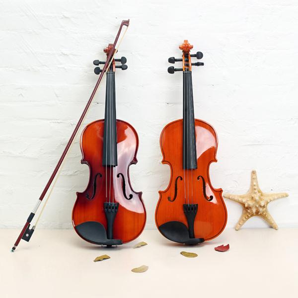 ASTONVILLA AV02 4/4 Imitation Ebony Parts Spruce Wood Acoustic Violin Musical Instruments
