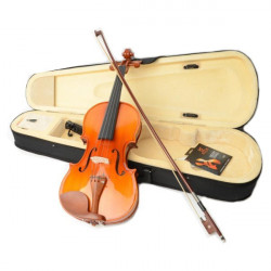 ASTONVILLA AV05 4/4 Glossy Spruce Wood Acoustic Violin with Accessories