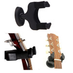 Aroma AH-81 Guitar Stand Wall Hanger Holder Rack Hook Black Musical Instruments