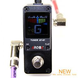 Aroma AT-07 Tuner Tiny Chromatic Guitar Bass Ukulele Violin Tuner